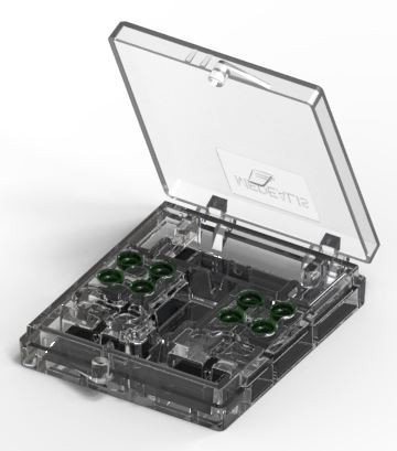 Set 8 Stück Docklocs® Retentionseinsatz, grün