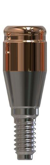 Docklocs® Abutment Set Gerade Dentsply® Astra® OsseoSpeed® TX Lilac 4,5mm/5mm x GH 3,0 mm