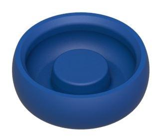 Set 8 Stück Docklocs® Retentionseinsatz, leichte Retention, blau