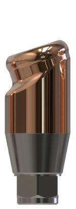 Docklocs® Abutment Set Abwinkelung 18° Variante A Dentsply® Astra® OsseoSpeed® TX Lilac 4,5mm/5mm x