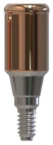 Docklocs® Abutment Set Gerade Dentsply® Astra® OsseoSpeed® TX Aqua 3,5mm/4mm x GH 5,0 mm