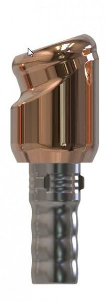 Docklocs® Abutment Set Abwinkelung 18° Variante A Camlog® Camlog® Ø3,3 x GH 3,0 mm
