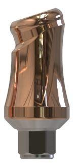 Docklocs® Abutment Set Abwinkelung 18° Variante A Bego® Sub-Tec S/RI/RS/RSX 4,5 x GH 5,0 mm
