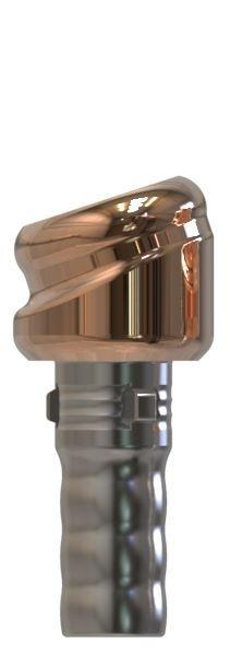 Docklocs® Abutment Set Abwinkelung 18° Variante B Camlog® Camlog® Ø3,3 x GH 1,0 mm