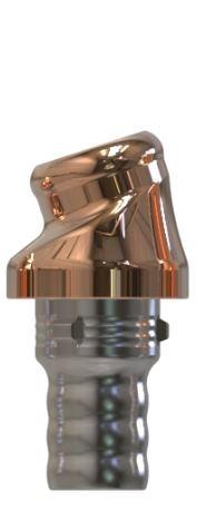 Docklocs® Abutment Set Abwinkelung 18° Variante A Camlog® Camlog® Ø5,0 x GH 2,0 mm