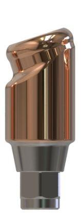 Docklocs® Abutment Set Abwinkelung 18° Variante A Medentis® ICX x GH 3,0 mm
