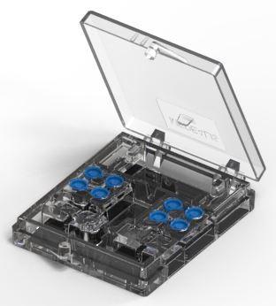 Set 8 Stück Docklocs® Retentionseinsatz, blau