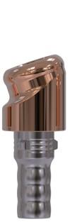 Docklocs® Abutment Set Abwinkelung 18° Variante A Camlog® Camlog® Ø3,8 x GH 2,0 mm