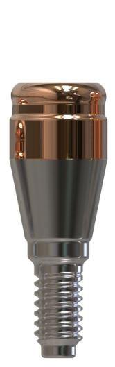 Docklocs® Abutment Set Gerade Dentsply® Astra® OsseoSpeed® TX Lilac 4,5mm/5mm x GH 2,0 mm
