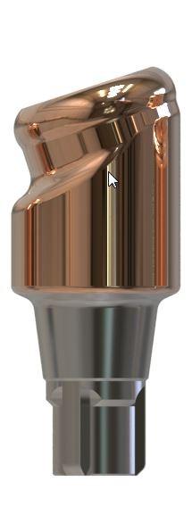 Docklocs® Abutment Set Abwinkelung 18° Variante A Camlog® Conelog® Ø3,3 x GH 3,0 mm