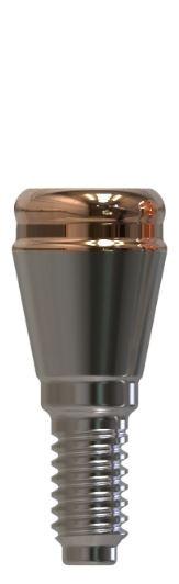 Docklocs® Abutment Set Gerade Dentsply® Astra® OsseoSpeed® TX Lilac 4,5mm/5mm x GH 1,0 mm