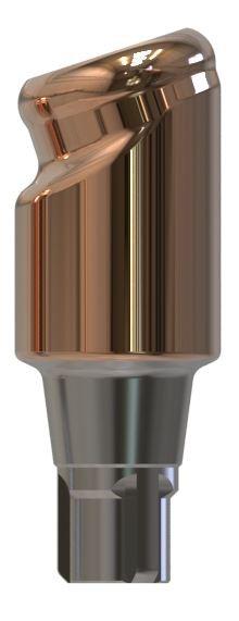 Docklocs® Abutment Set Abwinkelung 18° Variante B Camlog® Conelog® Ø3,3 x GH 5,0 mm
