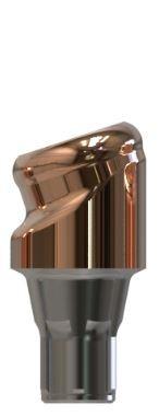 Docklocs® Abutment Set Abwinkelung 18° Variante A Dentsply® Astra® OsseoSpeed® Profile EV 3,6mm x GH